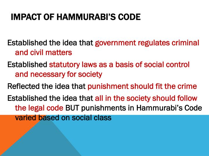a discussion of the laws and ethics of the code of hammurabbi Restoring and holding on to beauty: the role of aesthetic relational values in sustainable development moshe e ncilashe swartz dissertation presented for the.