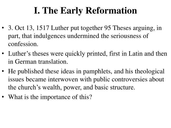 Martin luther 95 theses powerpoint