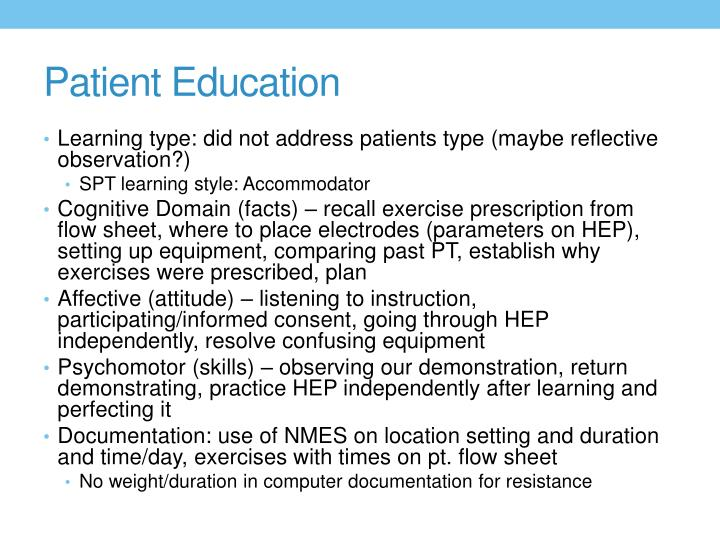 Patient Education