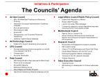 the councils agenda