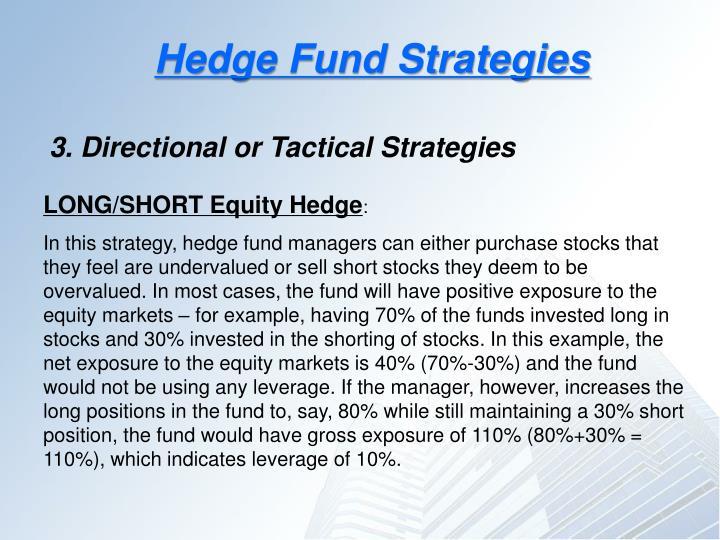 Hedge Fund Strategies