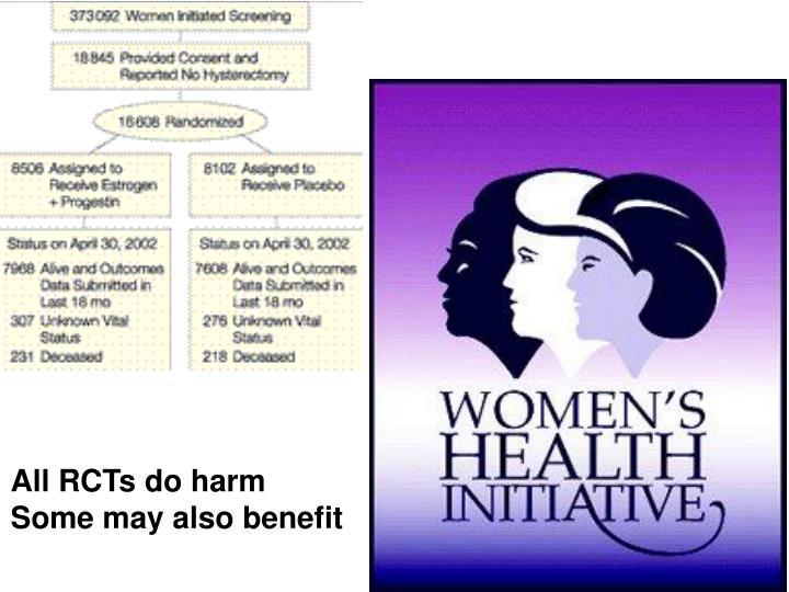 All RCTs do harm