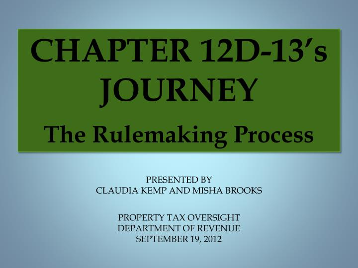 Property tax oversight department of revenue september 19 2012