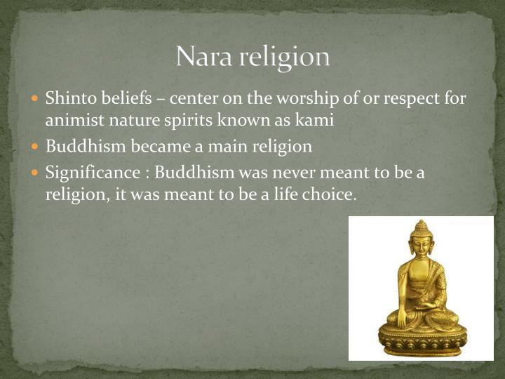 Nara religion