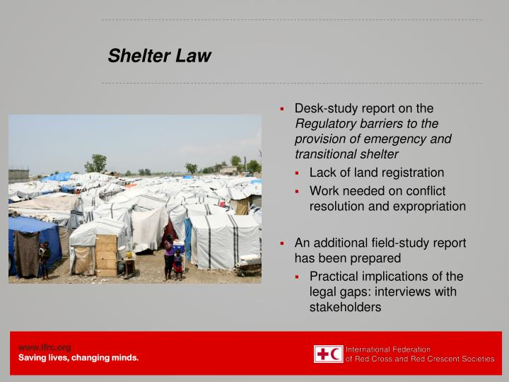 Shelter Law