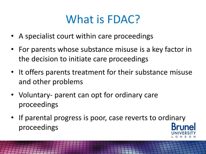 What is FDAC?