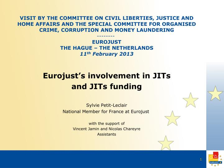 Visit by the committee on civil liberties, justice and home affairs and the special committee for or...