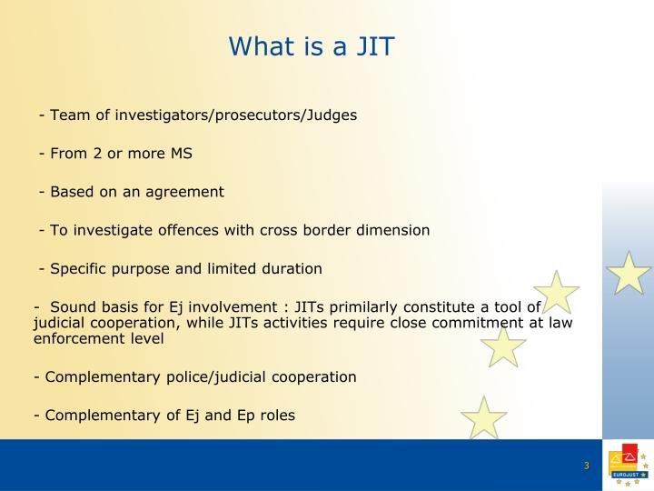 What is a JIT
