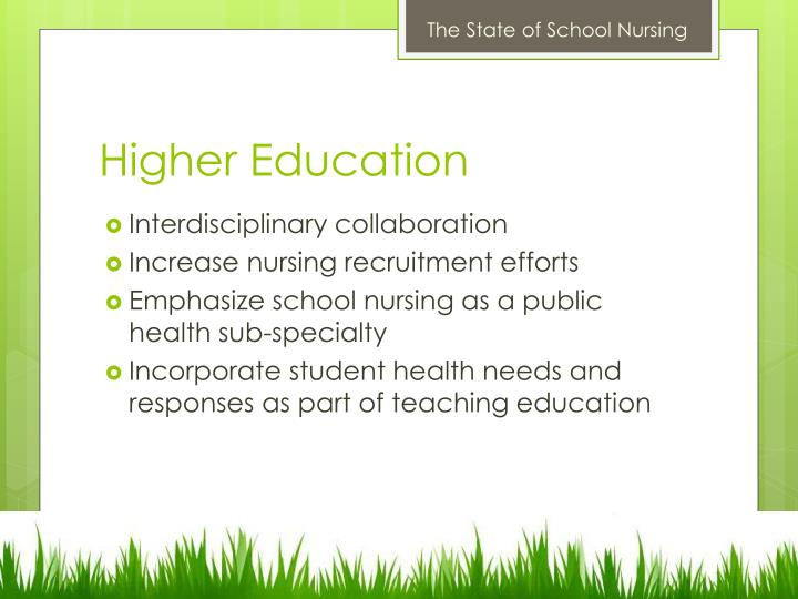 The State of School Nursing