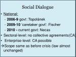 social dialogue1