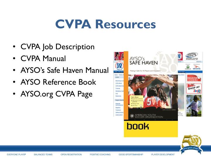 CVPA Resources