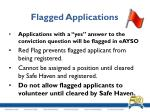 flagged applications2