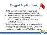 flagged applications5
