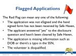 flagged applications6
