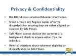 privacy confidentiality1