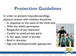 protection guidelines1