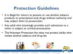 protection guidelines3