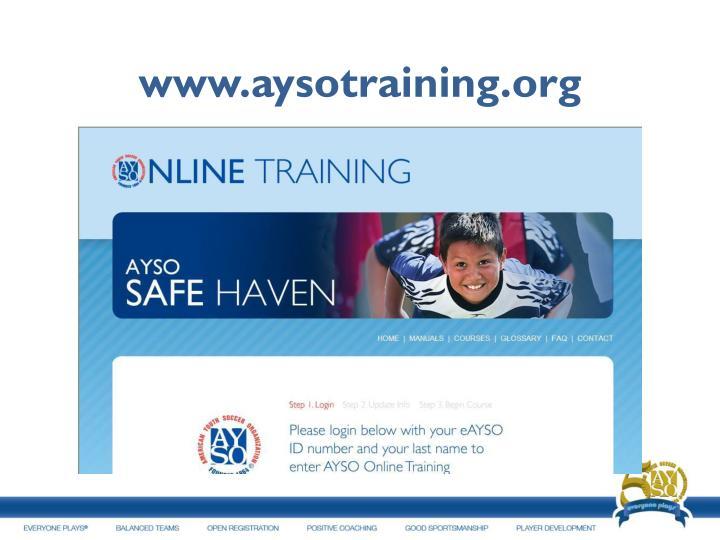 www.aysotraining.org