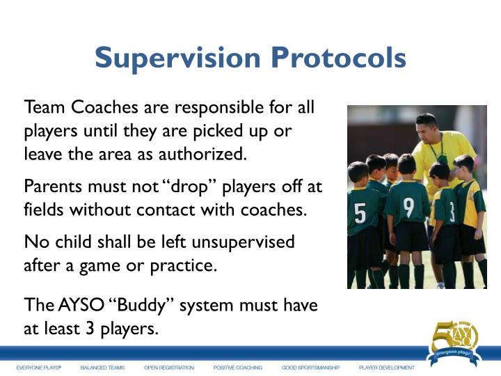 Supervision Protocols
