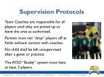 supervision protocols1