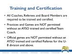 training and certification2