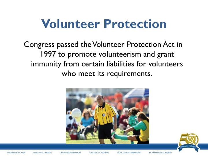 Volunteer Protection
