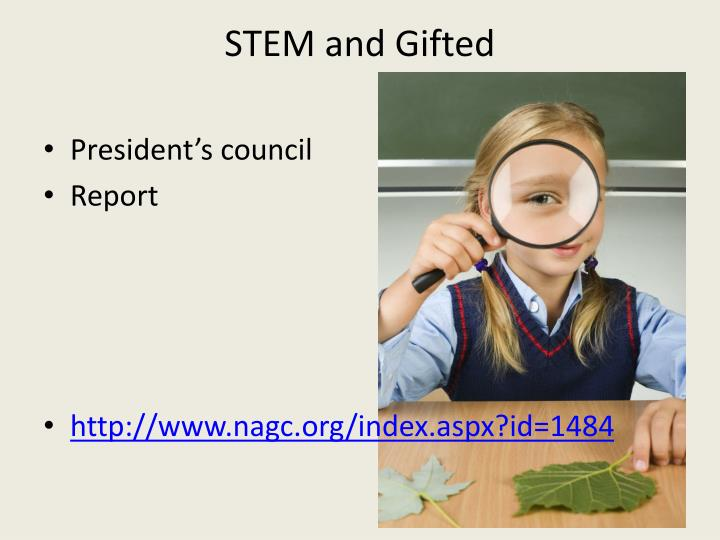 STEM and Gifted