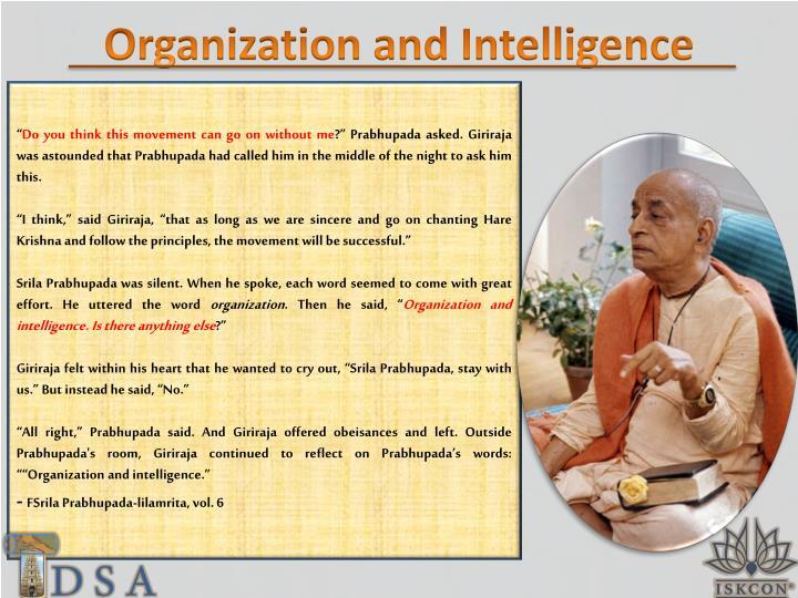 Organization and