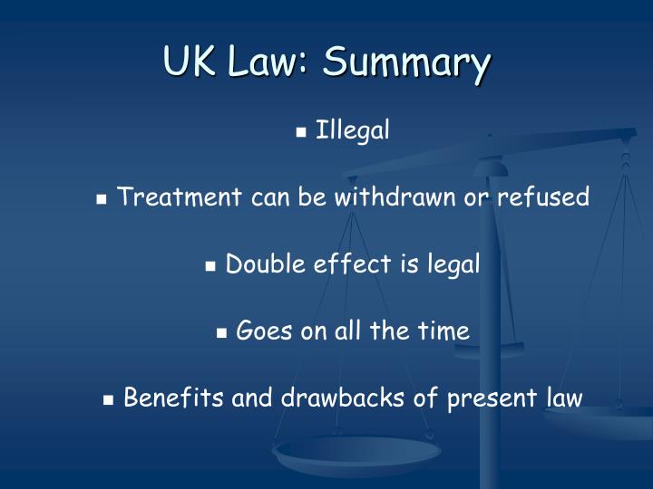 UK Law: Summary