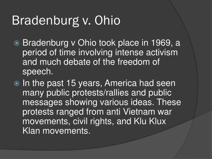Bradenburg v. Ohio
