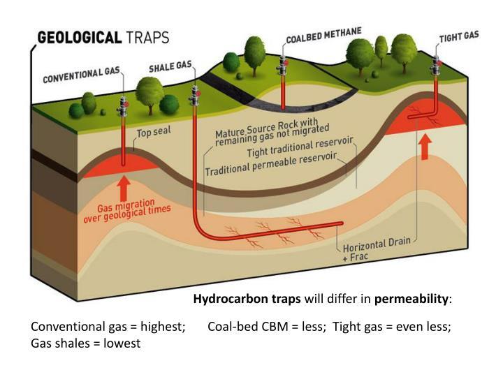 Hydrocarbon traps