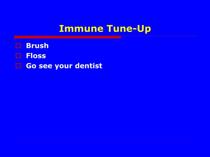 Immune Tune-Up