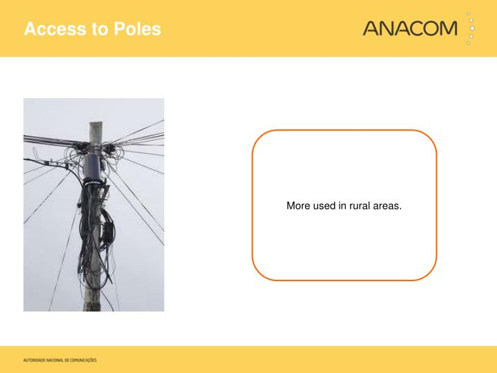 Access to Poles