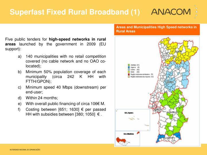 Superfast Fixed Rural Broadband (1)