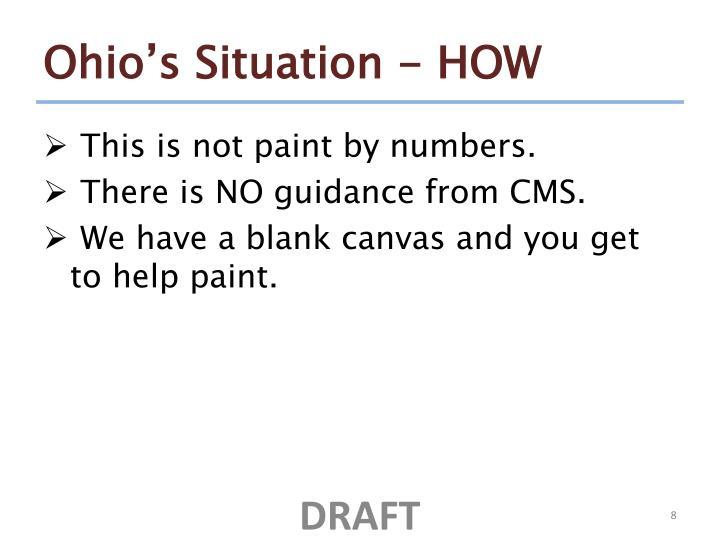 Ohio's Situation - HOW