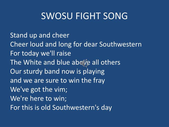 SWOSU FIGHT SONG