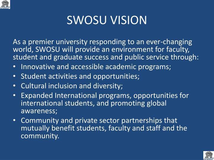 SWOSU VISION