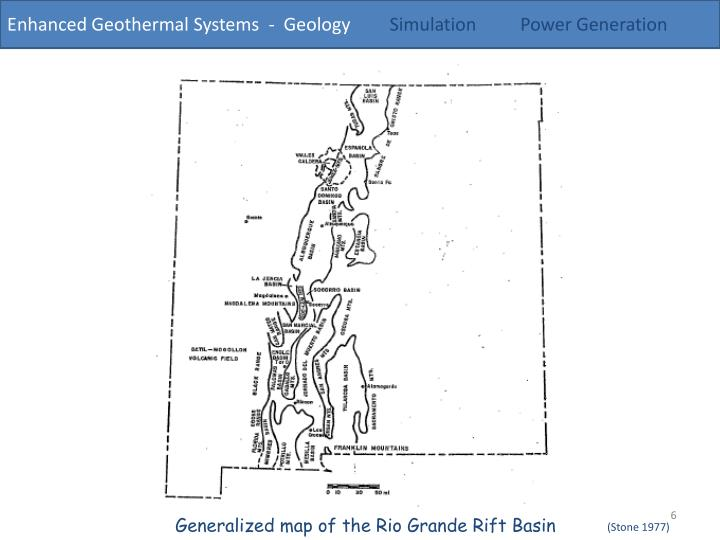 Enhanced Geothermal Systems  -  Geology