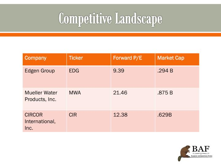 Competitive Landscape