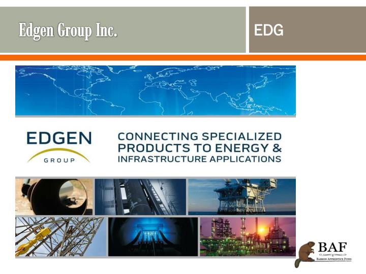 Edgen group inc