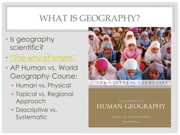 Ap Human Geography Nature And Perspectives Quiz