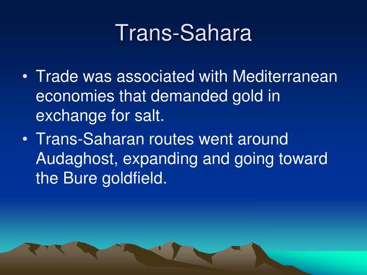 Trans-Sahara