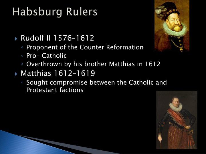 Habsburg Rulers