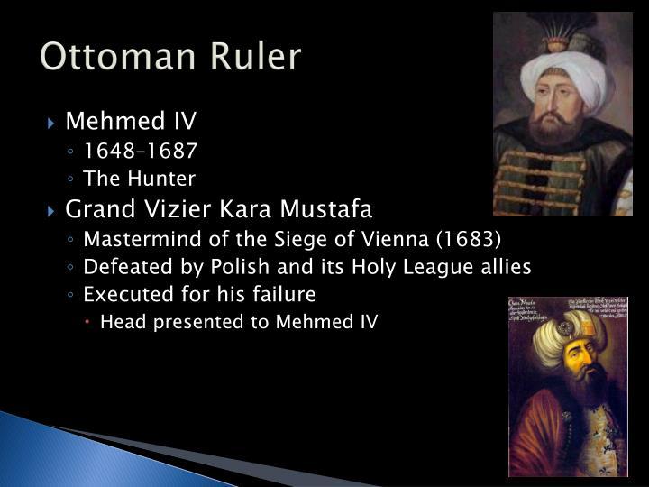 Ottoman Ruler