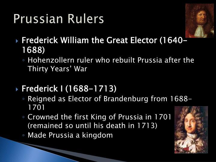 Prussian Rulers