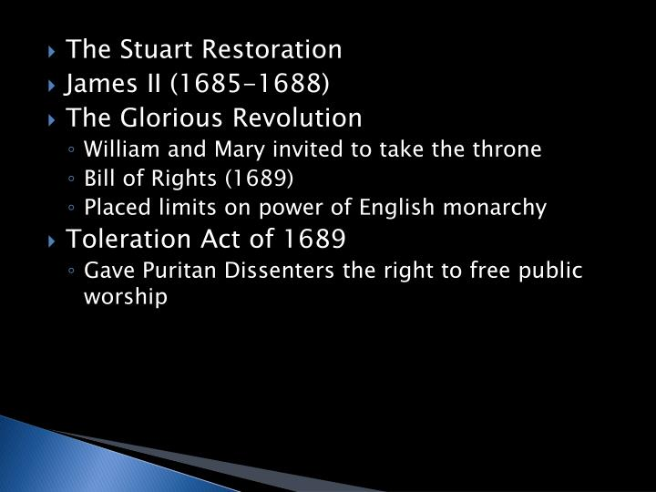 The Stuart Restoration