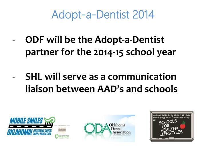 Adopt-a-Dentist 2014