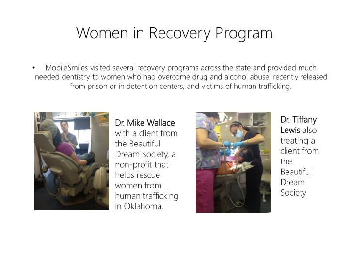 Women in Recovery Program