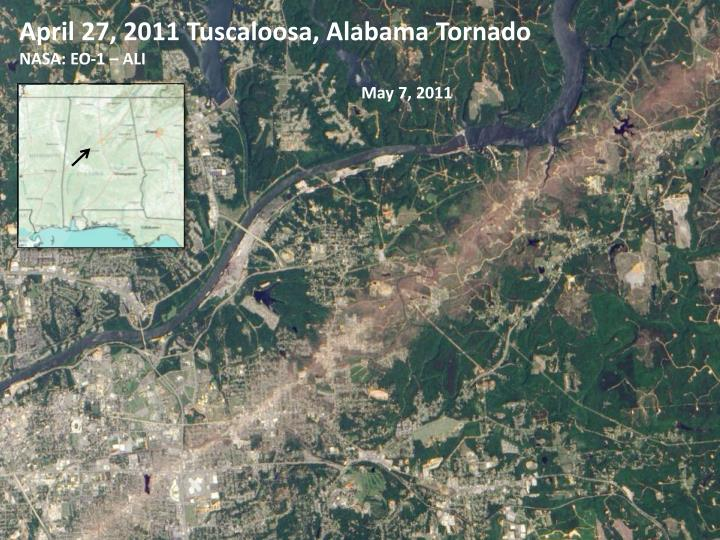 April 27, 2011 Tuscaloosa, Alabama Tornado