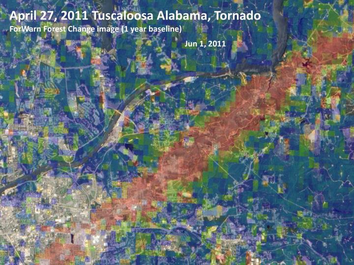 April 27, 2011 Tuscaloosa Alabama, Tornado